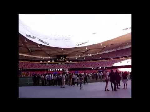 China Beijing National Stadium Trip