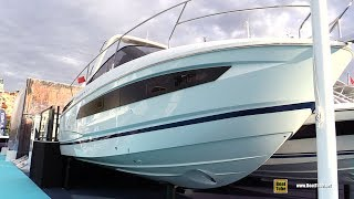 2019 Jeanneau Leader 30 HB Yacht - Walkaround - 2018 Cannes Yachting Festival