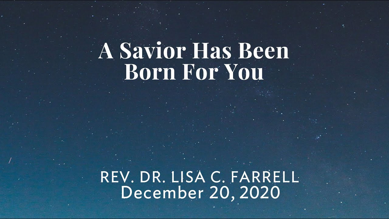 A Savior is Born For You