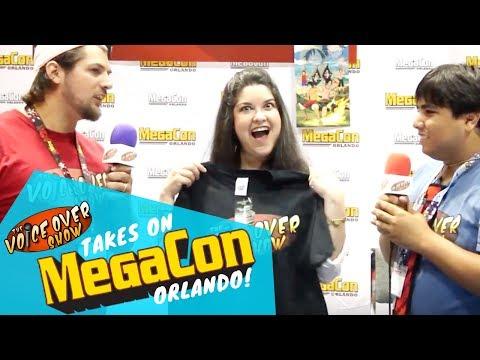 TVOS takes on Megacon Orlando! ft Colleen Clinkenbeard, Amanda C. Miller & Christopher Daniel Barnes
