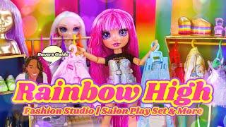 Unbox Daily: ALL NEW Rainbow High Fashion Studio & Salon Play Set | Buyers Guide