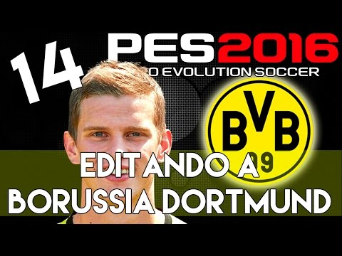 PES 2016 | Abilities And Face Stats Of Bender | Editando A Borussia Dortmund #14 | PS4.