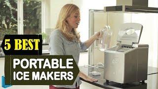 5 Best Portable Ice Makers 2018 | Best Portable Ice Makers Reviews | Top 5 Portable Ice Makers