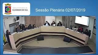 Sessão Plenária 02/07/2019