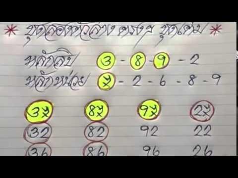 เลขเด็ดงวดนี้ หวยสายธาร สายสุพรรณ 2/05/58
