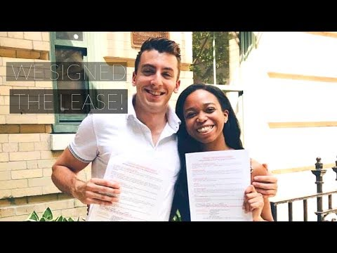 WE SIGNED THE LEASE! APARTMENT HUNTING IN NYC! | TOMA J