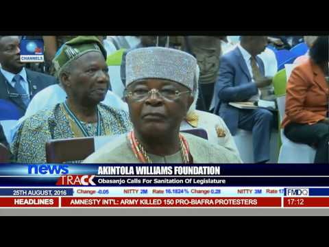 Obasanjo Calls For Sanitation Of Legislature