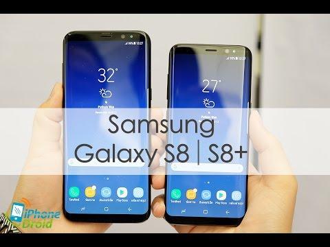 พรีวิว Samsung Galaxy S8 และ S8+