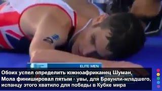 Финиш без сознания в триатлоне