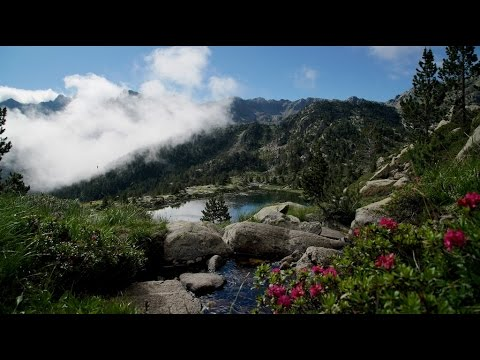 Hiking in the Pyrenees, Andorra. English subtitles.