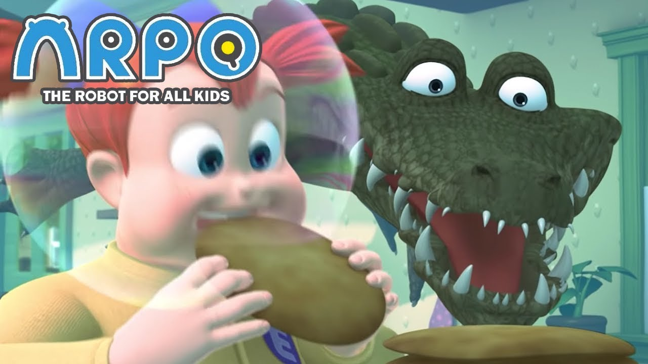 ARPO The Robot For All Kids - hungry Crocodile | Compilation | Cartoon for Kids