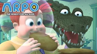 ARPO The Robot For All Kids - hungry Crocodile | Compilation | Cartoon for Kids Video