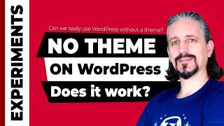 Delete WordPress Theme - Does WordPress Work Without a Theme?
