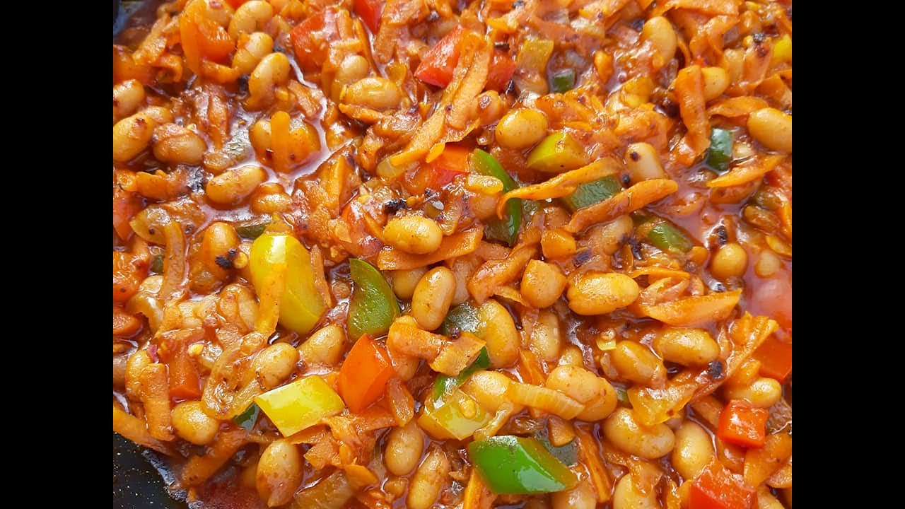 CHAKALAKA RECIPE/SOUTH AFRICAN FOOD
