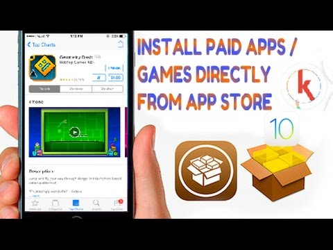KStore(LinkStore alternative) install paid games/apps direct from Appstore  for Jailbroken Idevices