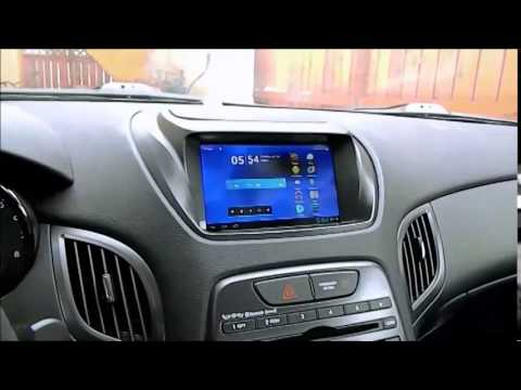In Dash Tablet Install On Genesis Coupe Youtube