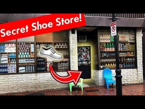 SECRET STORE IN BOSTON - Bodega Shoe Store ( HIDDEN in Plain Sight )