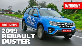 2019 Renault Duster | First Drive | OVERDRIVE