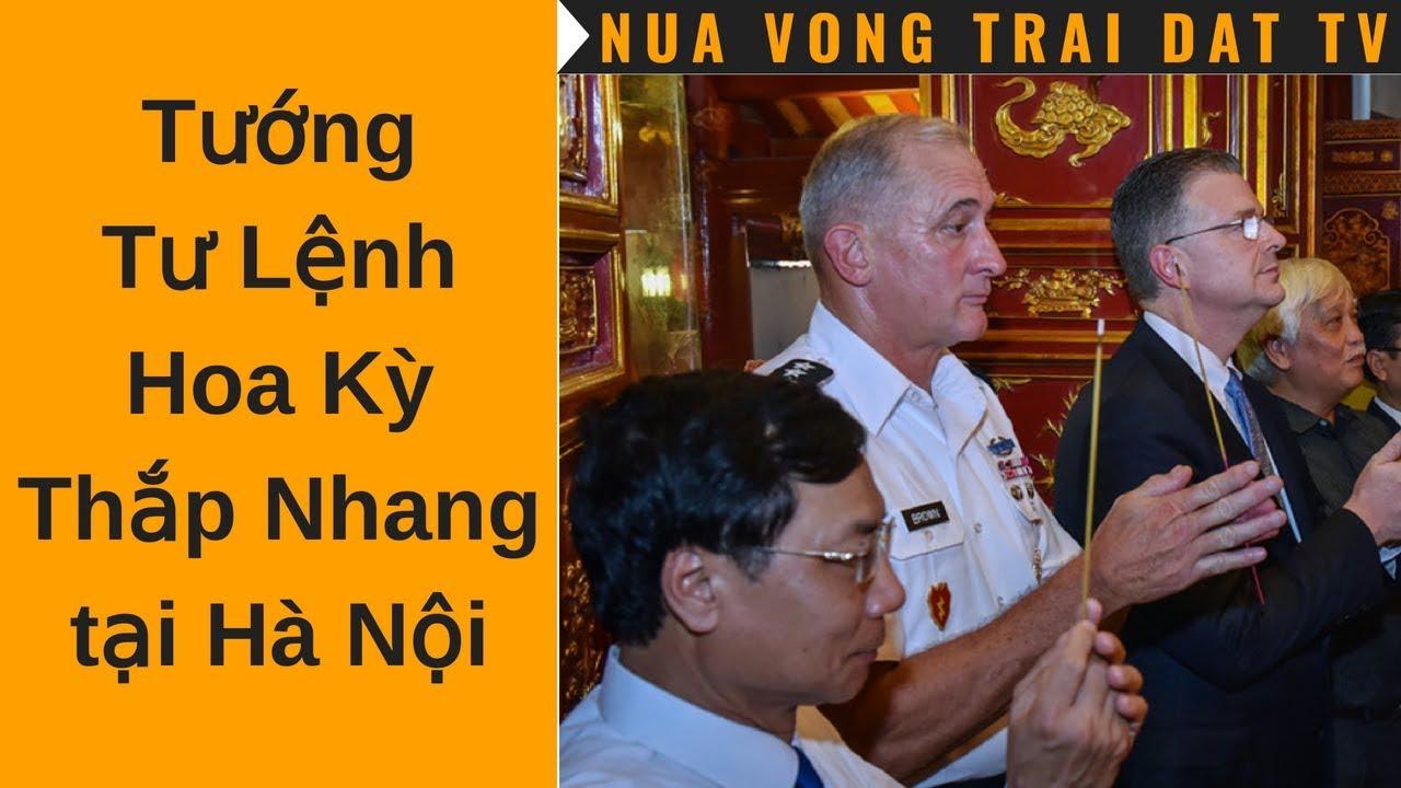 🆕 Đại Tướng Tư Lệnh Mỹ thắp nhang tại Đền Hai Bà Trưng – Hà Nội