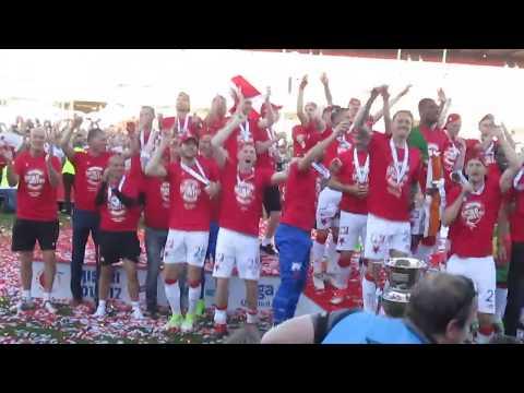 SK Slavia Praha – FC Zbrojovka Brno  27.05.17  Děkovačka