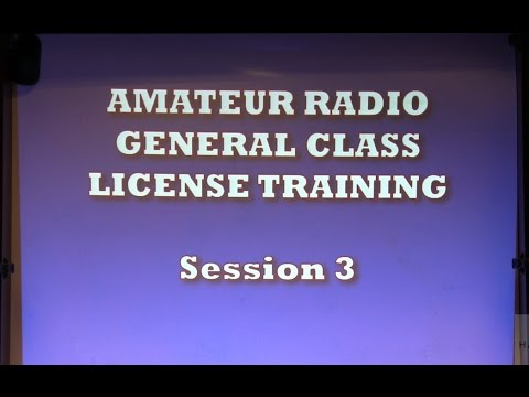 Ham Radio 2.0: Episode 66, part 3: General License Training Class