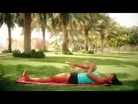"""Yoga By Chandra: Video 3 of 10 of """"Your Dose of Good Vibes and Healthy Tips"""""""