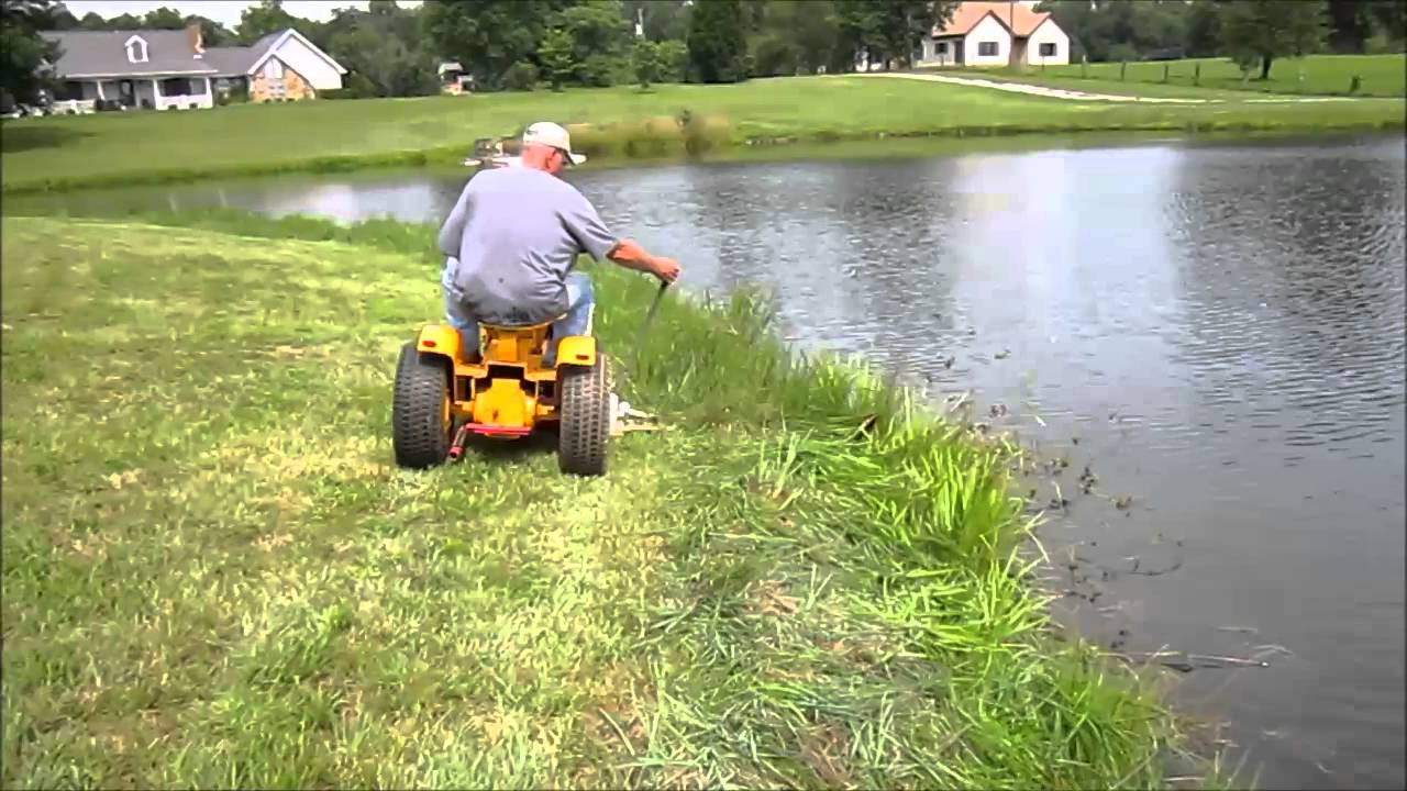 Haban Sickle Bar Mower Youtube