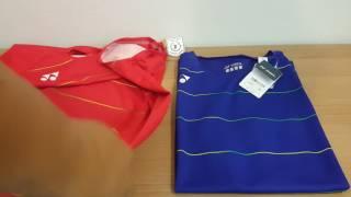 yonex badminton shirt olympic2016 salamax พากษ ไทย