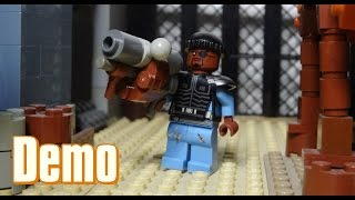How To Build A Lego Team Fortress 2 Demoman