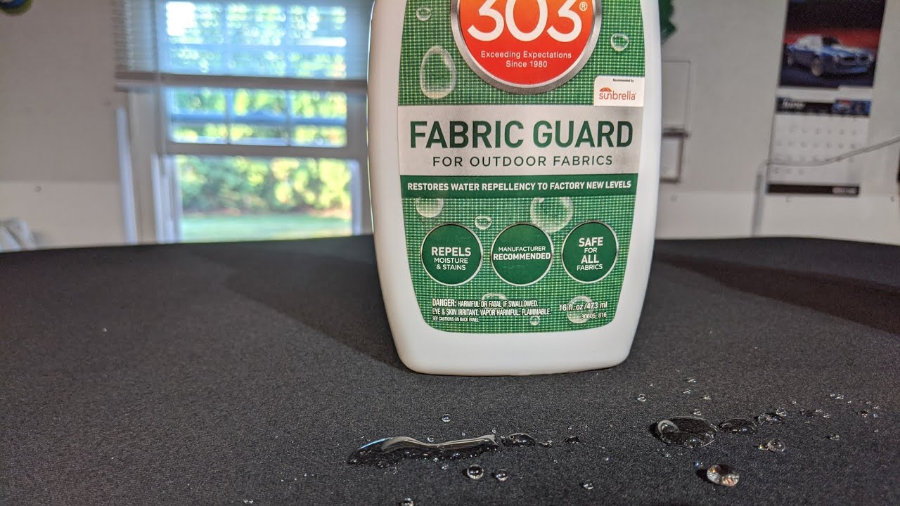 303 Fabric Guard At Work- This Stuff is Legit!
