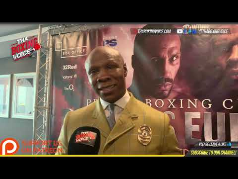 "Chris Eubank Sr., ""The DNA is SPECIAL in Jr., I Know His Drive, Jr., Will push Degale Out The Fight"