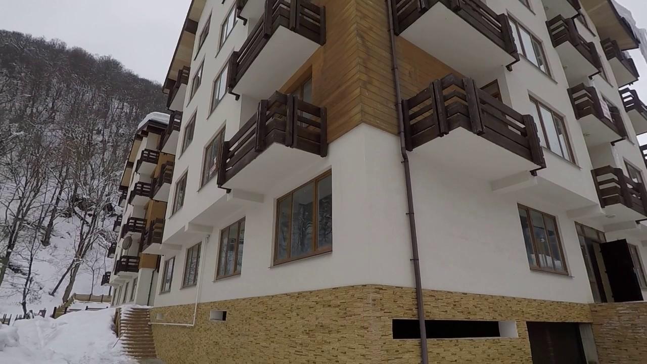Купить квартиру в красной поляне, обзор квартиры 92кв.м за 12 млн .