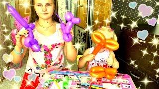 Делаем животных из шариков/видео для детей