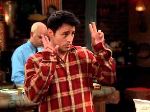 "Friends - Joey's funny ""apology"" - YouTube"