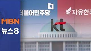 한국당, 'KT 청문회 못 하겠다' 티격태격 왜?[뉴스8]