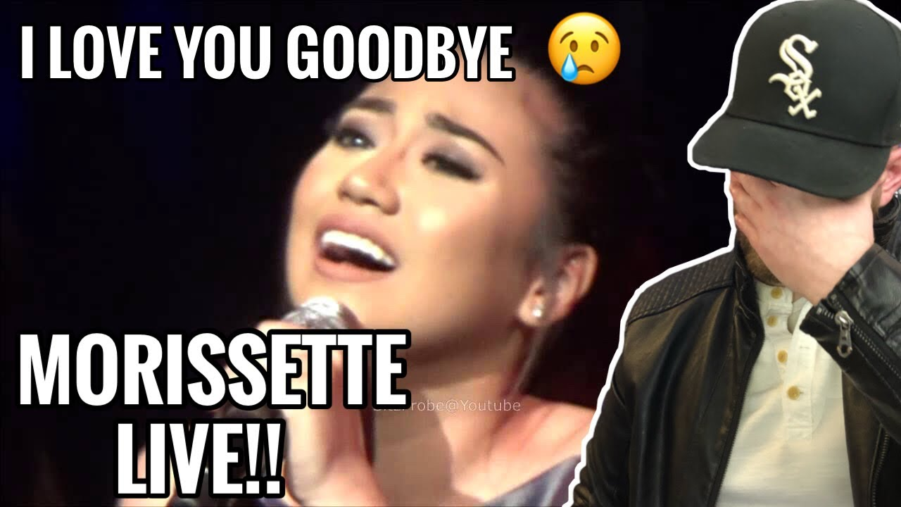 [American Ghostwriter] Reacts to: I Love You Goodbye - Morissette Amon at the Music Museum Stages