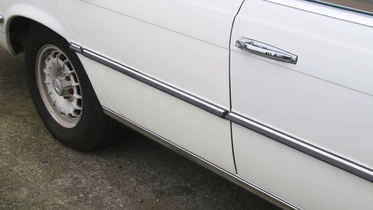 Best Tool to Remove Chrome Side Body Trim Strips on Older Mercedes Benz