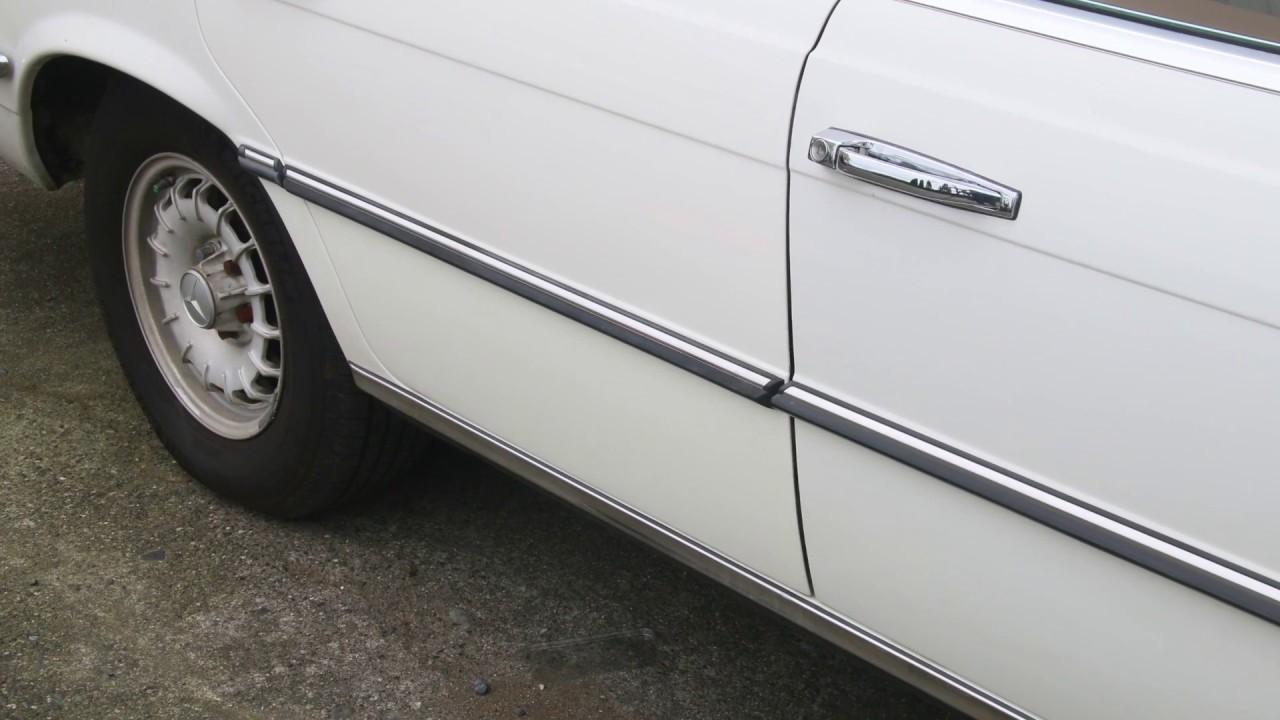 Mercedes W123 Coupe body moulding trim set of 7 pieces