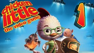 Disney's Chicken Little Walkthrough Part 1 (PS2, XBOX, PC, Gamecube)