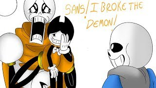 SADDEST UNDERTALE & BENDY AND THE INK MACHINE COMIC DUBS COMPILATION