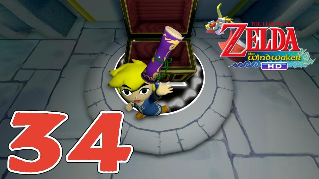 Zelda Wind Waker Karte.Let S Play Zelda The Wind Waker Hd German 100 2nd Quest 34