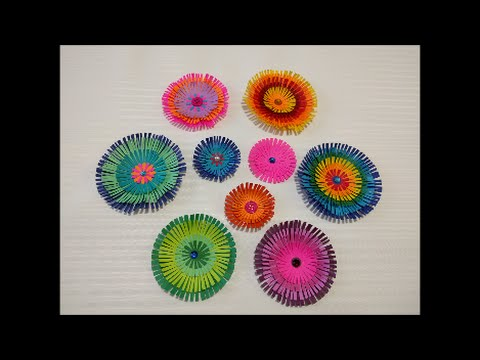 Art And Craft How To Make Paper Flower Paper Scrapebooking Flower