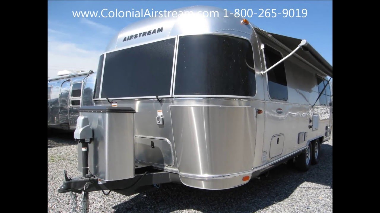 New 2016 Airstream International Signature 25FB Twin Front Bedroom - YouTube