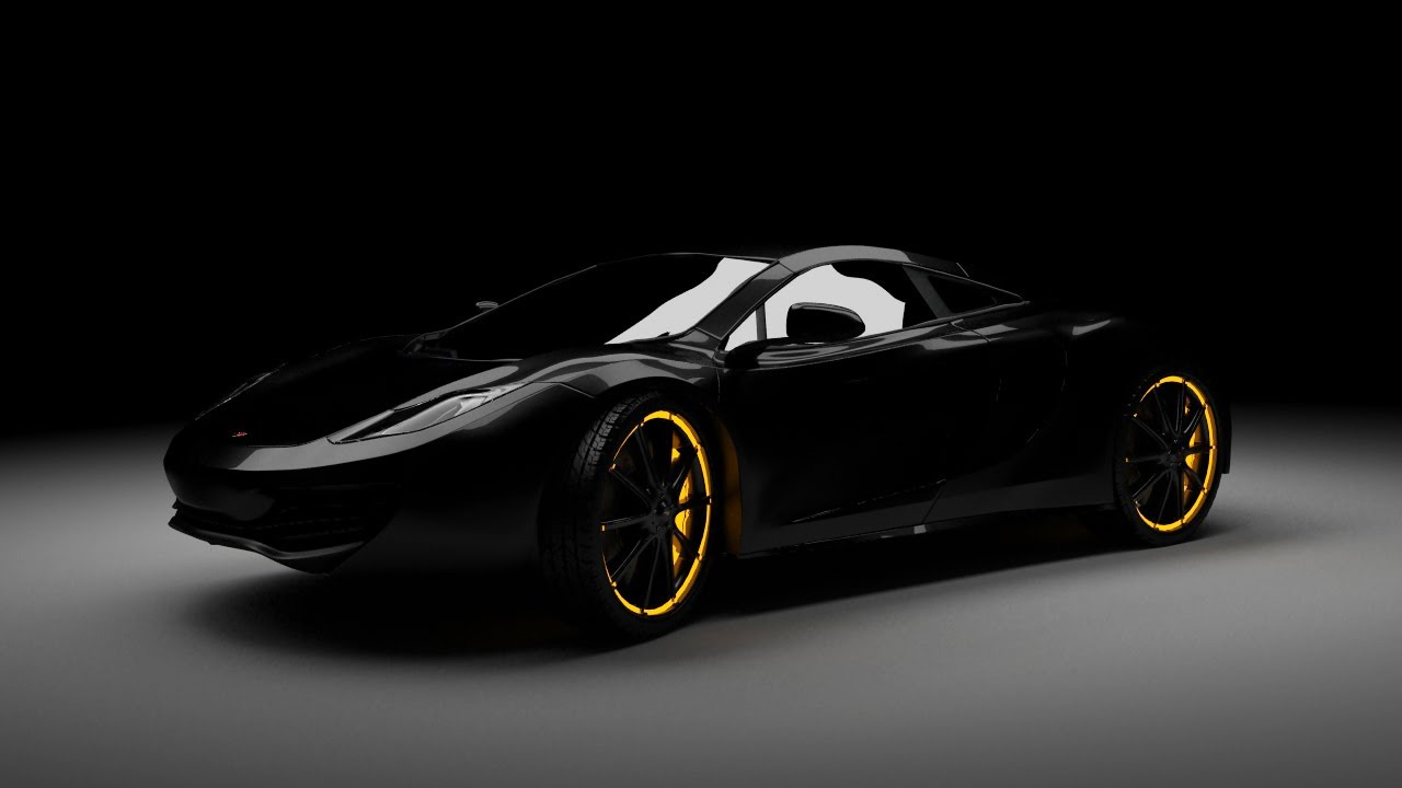 Spyder 3d Wallpaper 3ds Max Tutorial Quot Mysterious Quot Car Lighting And Render