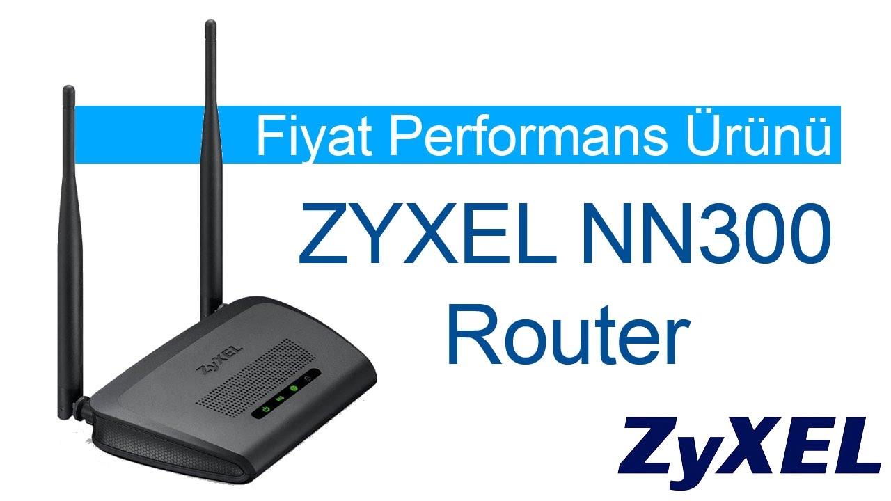 Fiyat Performans Ürünü: ZyXel N300 NBG 418 v2 Router İncelemesi