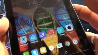 как настроить аккаунт Google на планшете Lenovo A1 07. Харьков