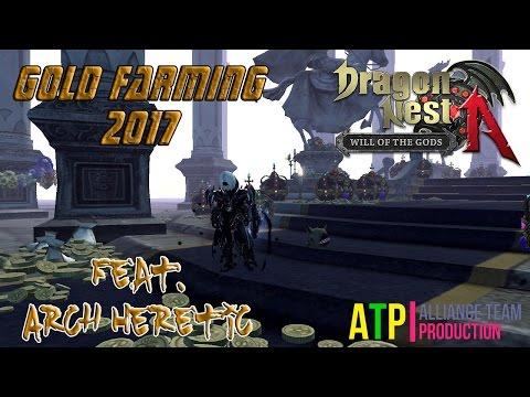 Dragon Nest SEA - Gold Farming Tips 2017 Cap 93