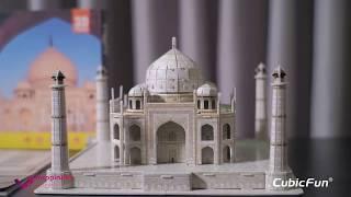 FULL - Mô hình giấy Cubic Fun Đền Taj Mahal