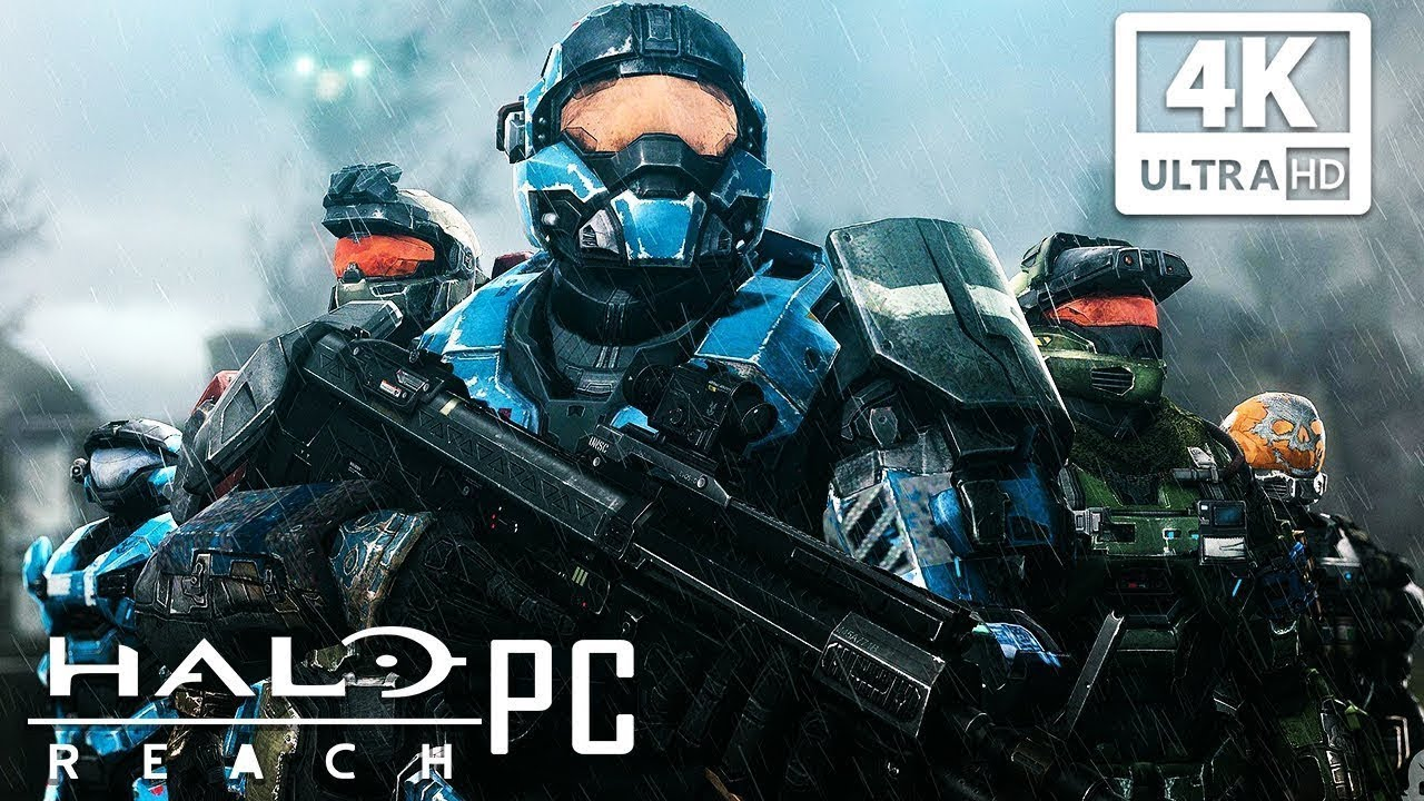 Download HALO REACH PC All Cutscenes (4K 60FPS) Game Movie