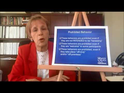 Sexual Harassment Training Presentation